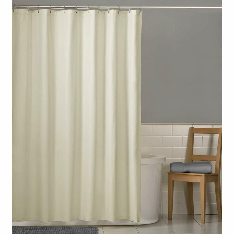 "Maytex Repellent Fabric Shower Curtain Liner, 70"" X 72"","