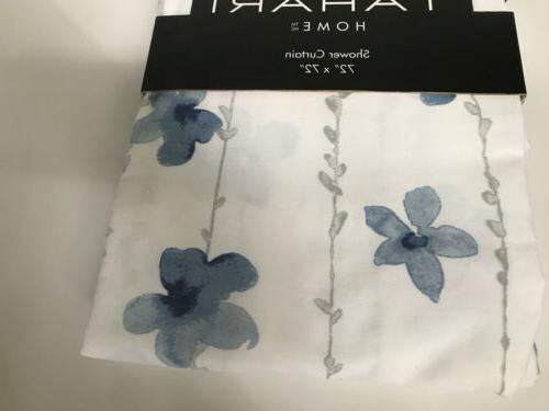 Tahari Watercolor Fabric White Gray