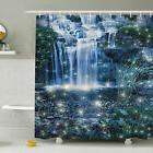 Ambesonne Waterfall Magic Fairy Cascade Shower Curtain Set