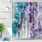 Waterpoof Fabric Shower Curtain Liner Crystal Quartz Stone M