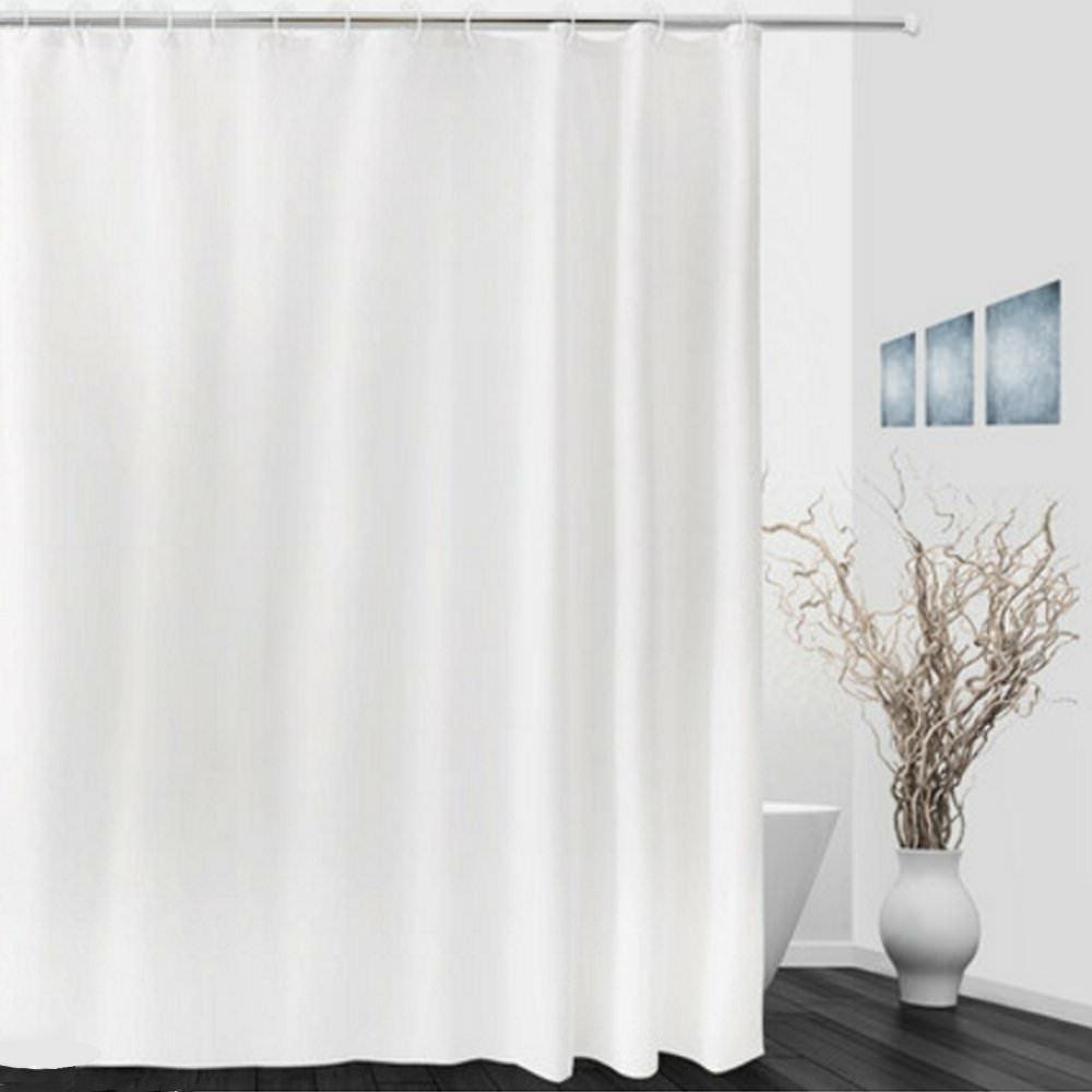 Fabric Solid 72 x 72 Bathroom