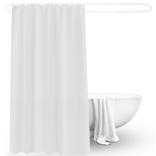 Waterproof Extra Curtain Bath Bathroom Thick Solid