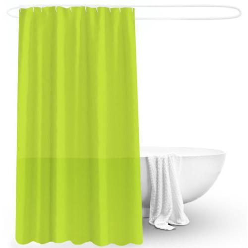 Waterproof Curtain Bath Liner Thick Solid Mildew