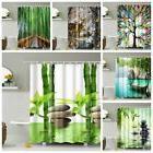 Modern Bathroom Shower Curtain Window Curtain BathMat With H