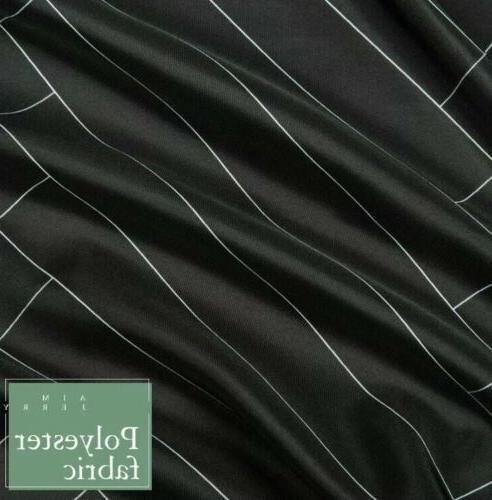 "Aimjerry Fabric Black 71"" Hotel"