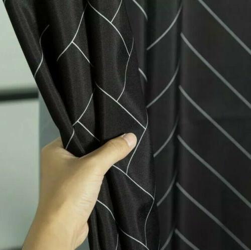"Aimjerry Waterproof Shower Curtain 71"" 71"" Hotel"