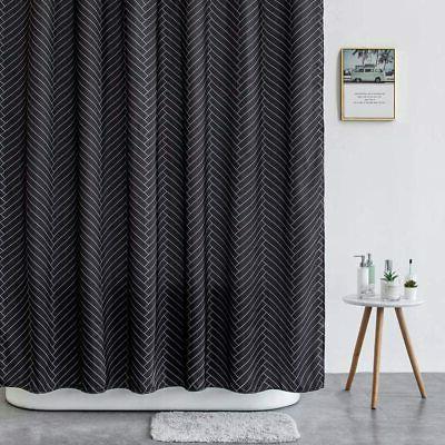 "Aimjerry Waterproof Fabric Shower Curtain 72"" x 72"""
