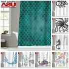 Waterproof Fabric Various Pattern Bathroom Shower Curtain 12