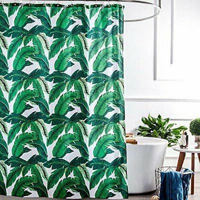Aimjerry Wave Shower Fabric Bathroom