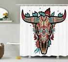 Ambesonne Western Shower Curtain by, Buffalo Sugar Mexican S