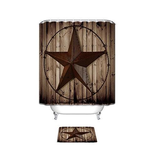 western texas star bathroom set