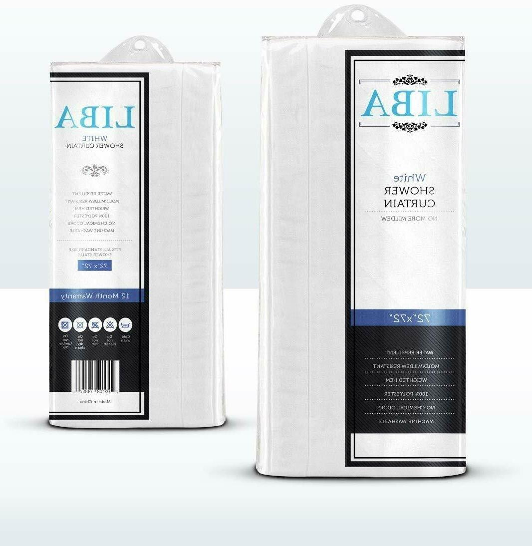 White Fabric Curtain liner, Resistant Antimicrobial,