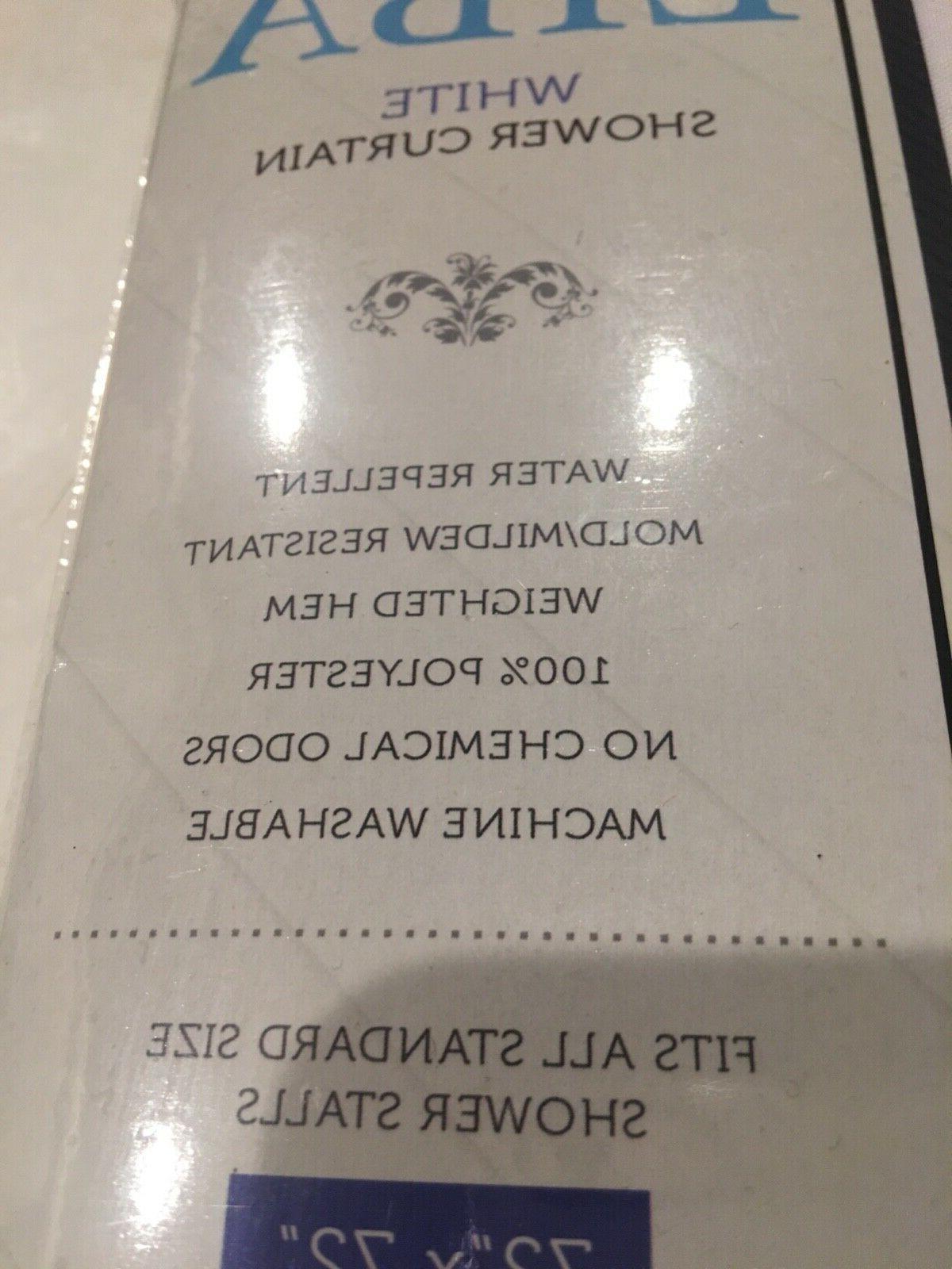 "Liba White Shower 72""x72"""