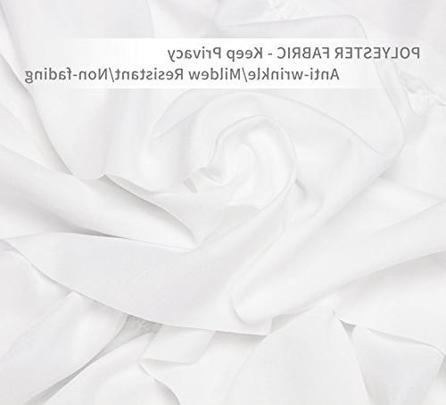 Volens Shower Fabric/Ruffle Bathroom,72in
