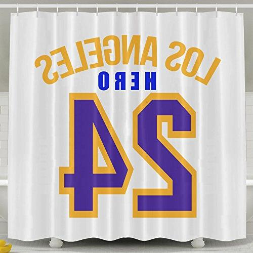 white shower curtains los angeles