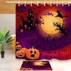 Witch Castle Shower Curtain Liner Waterproof Fabric Hallowee