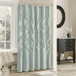 Madison Park Laurel Shower Curtain Blue 72x72