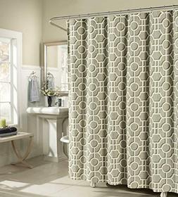 Creative Home Ideas Lenox 100% Cotton Luxury Fabric Shower C