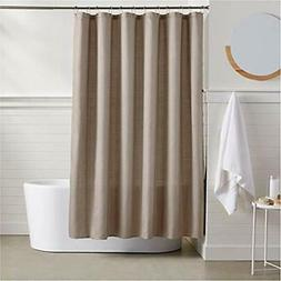 """AmazonBasics Linen Style Shower Curtain - Taupe Home """" Kitch"""