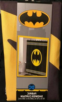 Batman Logo Fabric Shower Curtain