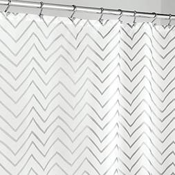 mDesign Long Decorative Metallic Pattern, Water Repellent, F