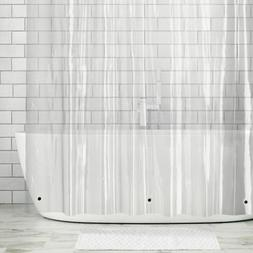 "mDesign LONG Waterproof Vinyl Shower Curtain Liner - 72"" x 8"