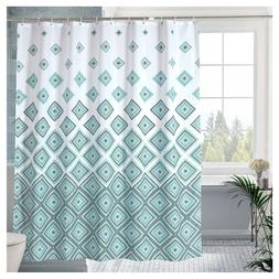 "Luxury Fabric shower Curtain Waterproof Magic Square 72""x72"""