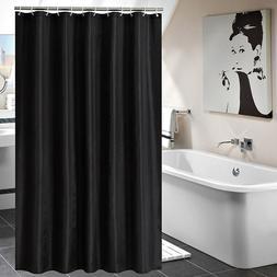 Luxury Fabric Shower Curtain with Hooks Bathroom Decor Water