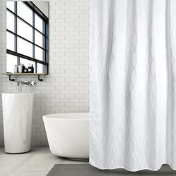 Hermosa Collection Luxury Jacquard Fabric Shower Curtain