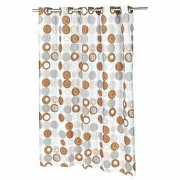 """Carnation Home Fashions Madison 70""""x 72"""" Polyester Shower Cu"""