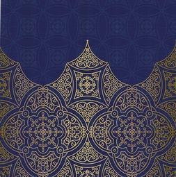 Mandala Floral Shower Curtain Oriental Ethnic Boho Filigree