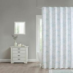 Marble 70-Inch x 96-Inch Extra Long Shower Curtain in Blue