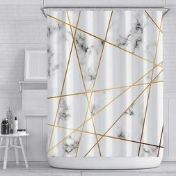 Marble Printed Shower Curtain Bathroom Decoration Curtain Wa