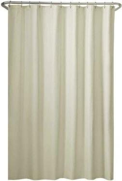 Maytex Water Repellent Fabric Shower Curtain or Liner, Machi
