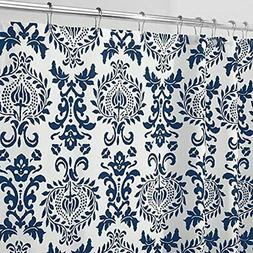 mDesign Long Decorative Damask Print - Easy Care Fabric Show