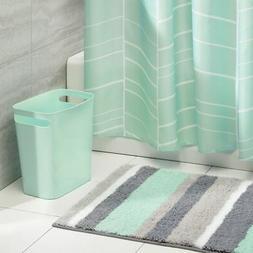 mDesign 3 Piece Decorative Bathroom Decor Set - Fine Weave P