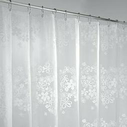 Mdesign Fiore Pvc-free Peva Shower Curtain, 180 X 200 Cm - W