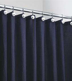 """mDesign Hotel-Style Fabric Shower Curtain - Extra Long, 72"""""""