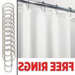 mDesign Long Water Repellent, Mildew Resistant, Heavy Duty F