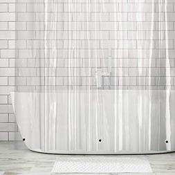 mDesign Mold and Mildew-Resistant EVA 5.5 Gauge Shower Curta