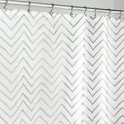 mDesign Long Decorative Metallic Pattern, Water Repellent, F