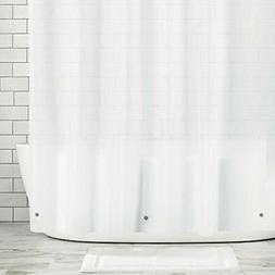 MDesign STALL Decorative Shower Curtain Hooks Sized Waterpro
