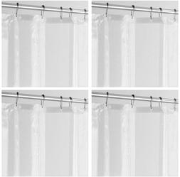 mDesign Waterproof, Mold/Mildew Resistant, PEVA Shower Curta