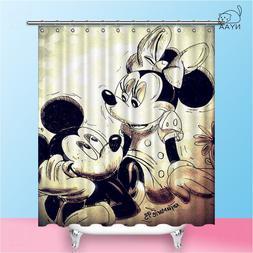 NYAA Mickey <font><b>Shower</b></font> <font><b>Curtains</b>