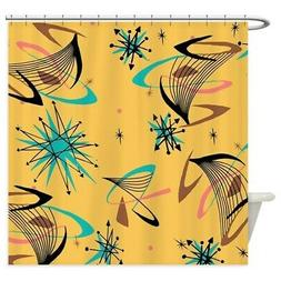 CafePress Mid Century Modern Pattern Shower Curtain