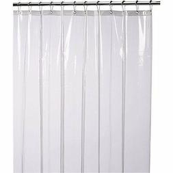 LiBa Mildew Resistant Anti-Bacterial PEVA 8G Shower Curtain