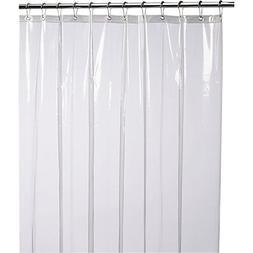 LiBa Mildew Resistant Anti-Bacterial Shower Curtain Liner, B