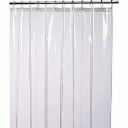 Liba Mildew Resistant Anti Bacterial Shower Curtain Liner No