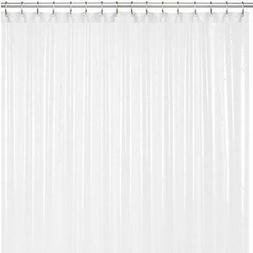 Liba PEVA Antimicrobial PVC Free Shower Curtain Liner Froste