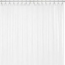 LiBa Mildew Resistant Anti-Microbial PEVA 8G Shower Curtain